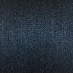 Alfombra Compactado Simil Tapizmel Negro Liso Negra X M2