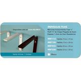 Mensula Fija Autoportante Soporte L 10x15cm Amurable 2 Lados e1eade82412e