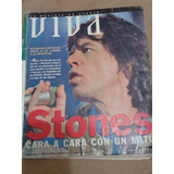 Revista Viva 1995 Cara Cara Con Un Mito Stones Perfecta