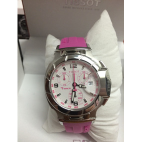Reloj Tissot T-race Para Mujer T048217 Rosa. Oportunidad