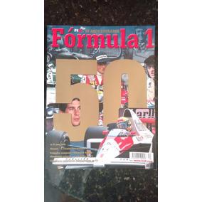 Revista Formula 1 F1 50 Anos Dourados Raridade