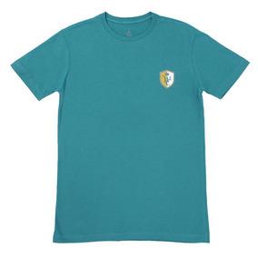 Camiseta Masculina Verde Sela Americana 100% Algodão - Wild