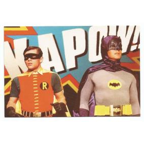 Cartão Postal Batman E Robin Impresso 1999 Na Inglaterra