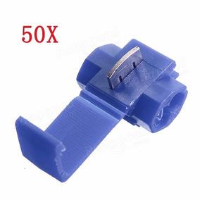 50pçs Conector Elétrico Derivação Emenda Fios 1,5 A 2,5mm