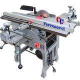 Ff Combinada Carpinteria Garlopa Escuadradora 3hp 30cm 7func