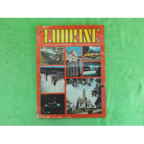 Antiga Revista Touring - Turismo E Automobilismo 1973 Nº 374