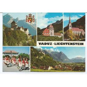 Antigo Cartão Postal - Vaduz - Liechtenstein.