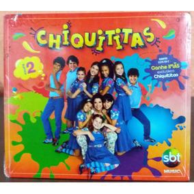 Cd Chiquititas Volume 2 - Novo, Lacrado, Com Ímãs Exclusivos