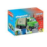Playmobil City Life Green Recycling Truck