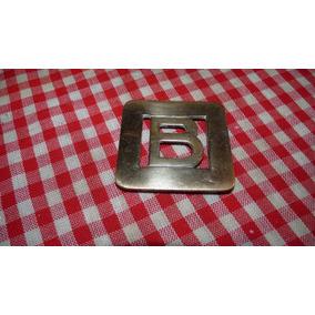 Figura De Bronce Para Puerta Letra B