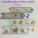 Cenefa De Cerámica Para Cocina O Baño 8 X 25 Cm