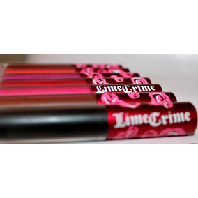 Labiales/gloss Mate Lime Crime Velvetines