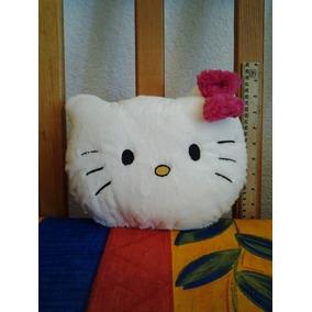 Cojin De Peluche Cara De Kitty 28cm