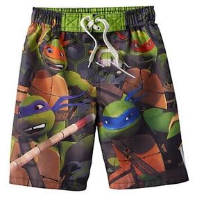Ropa De Baño Tortugas Ninja Para Niños