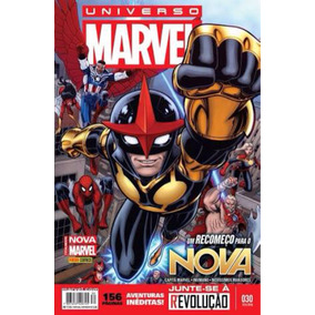 Hq Universo Marvel -n 30 -fevereiro - Totalmente Nova Marvel
