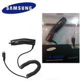 Cargador Ahorrador Original Samsung Galaxy Vehículos 5dlr N