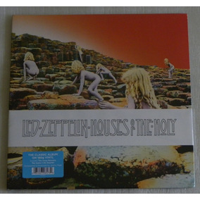 Led Zeppelin Houses Of The Holy Lp Made In U S A 180 Gramas