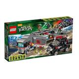 Todobloques Lego 79116 Ninja Turtles Fuga En Camión Nieve