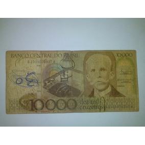 Cédula Nota Dez Mil Cruzeiros Original - Colecione!