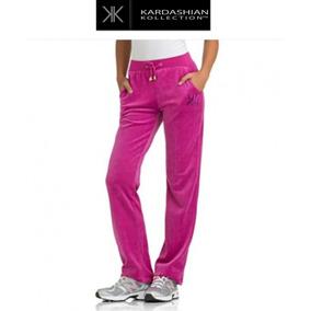 Pants 22w 2x Xxl Kardashian Collec Rosa Velour Stretch Padre