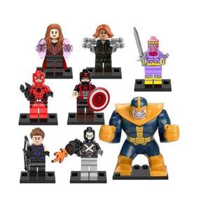 Capitão América Viúva Negra Gavião Arqueiro Thanos Antman
