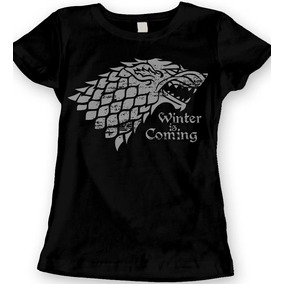 Game Of Thrones House Stark Blusa Dama Envio Gratis
