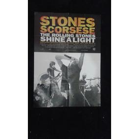 Poster Rolling Stones - Stones Scorsese The R S Shine Alight