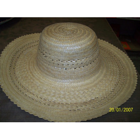 Sombrero De Paja P Playa - Antigüedades en Mercado Libre Argentina e57fedaf38f