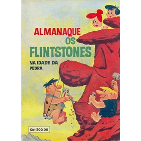 Almanaque Os Flintstones 1963 (o Cruzeiro) Hanna Barbera