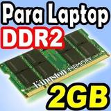 Memorias Ram Ddr2 2gb Laptop