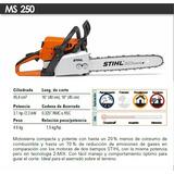 Motosierra Stihl Ms250 Con Barra De 20
