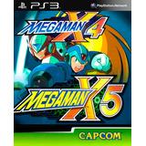Mega Man X4 + Mega Man X5 Ps3 Digital Gcp