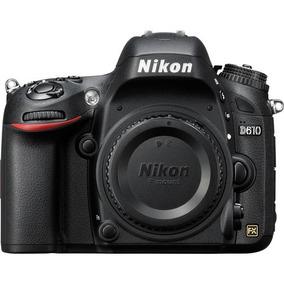 Câmera Nikon Dslr D610 - Somente O Corpo - Garantia E Nf