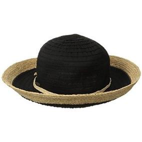Trituradora Corona Cinta De Scala Mujeres Sombrero Con Rafia 2bb81b3b445