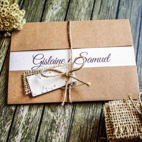 60 Convites De Casamento Rústicos + Modelos Personalizados