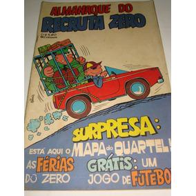 Almanaque Do Recruta Zero Para 1973 Gibi Raro De Coleção Rge