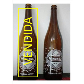 Giu74 Garrafa Refrigerante Agua Mineral Minuano R$ Unit