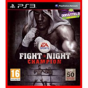 Fight Night Champion Boxe Para Ps3 Psn Envio Rápido