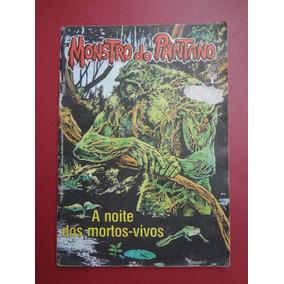 Revista Monstro Do Pântano Nº 04/1990