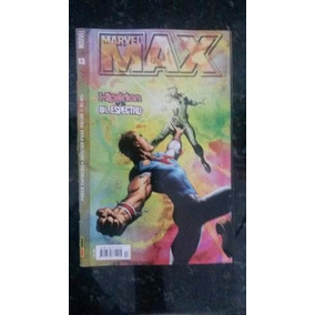 Hq - Marvel Max Nº 13. Registro Módico Frete 7,00