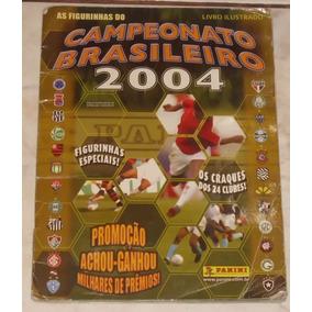 Álbum Campeonato Brasileiro 2004 - Panini