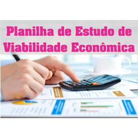 Pacote De Planilhas - Viabilidade Economica + Plano Negócios