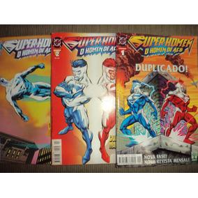 Super Homem O Homem De Aço 1 A 17 Completa Frete Gratis Exce