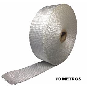Manta Térmica Branca, Termotape Para Escapamento 10 Metros