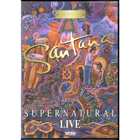 Santana Super Natural Live Dvd Original Novo Lacrado