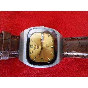 Relógio Automatico Seiko Quadrado Decada De 70 F Grátis