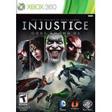 Injustice Xbox 360 -- Envío Gratis -- Preguntar