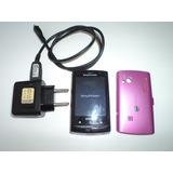 Sony Ericsson Xperia X10 Mini Rosa Teclado Qwerty Excelente!