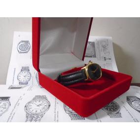 Relógio Feminino Folhado Ouro 18 K 15 Rubis Original