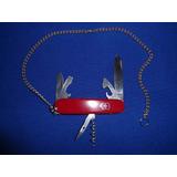 Canivete Victorinox Spartan Usado Revisado C/corrente 40cm!!